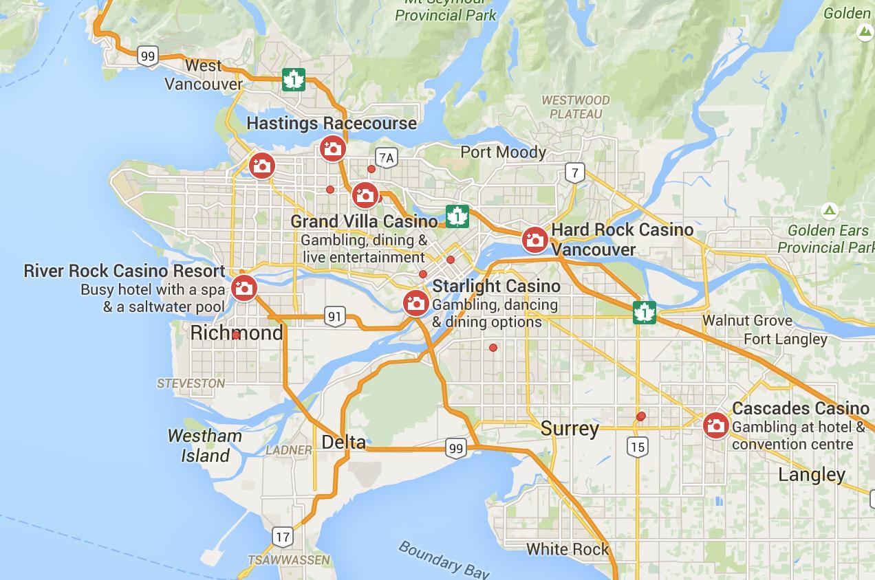 Casinos In Vancouver Area